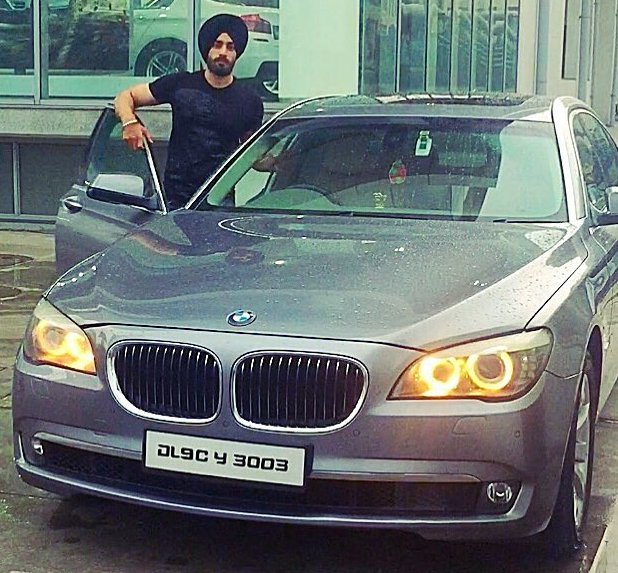 Shehzad Deol with his car