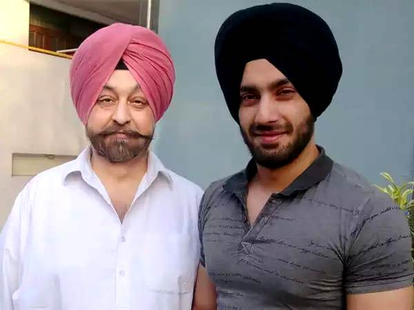 Shehzad Deol with his father