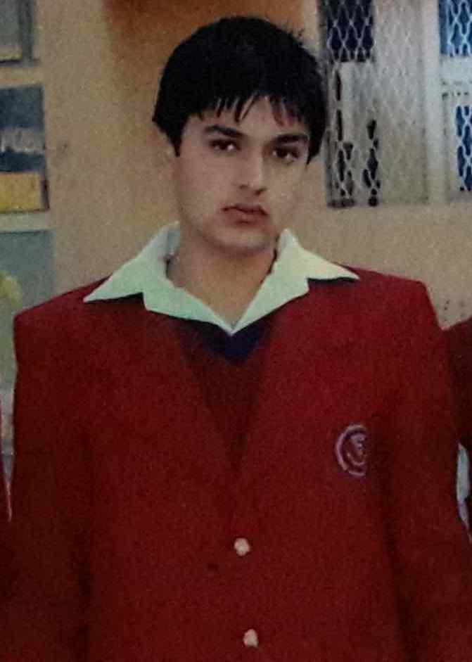 Veer Sahu childhood image