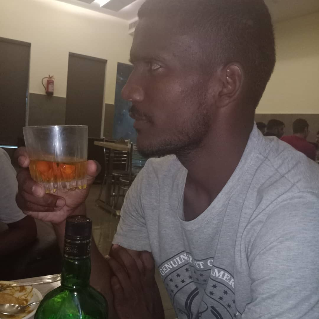 Kaka drink alcohol