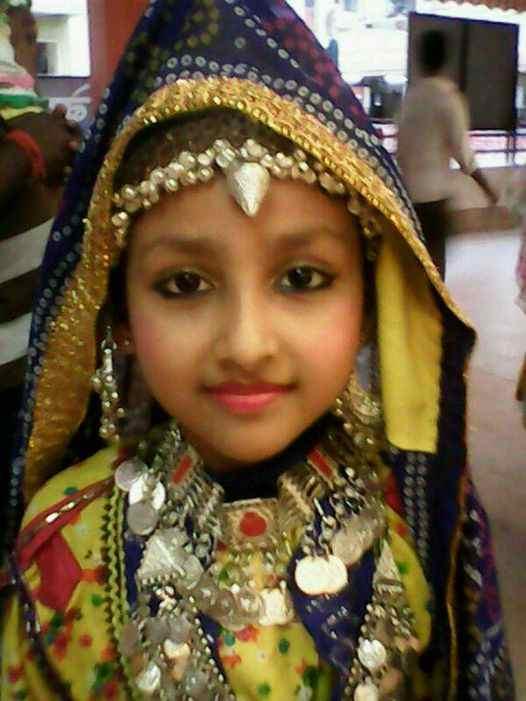 Anchal Sahu childhood image