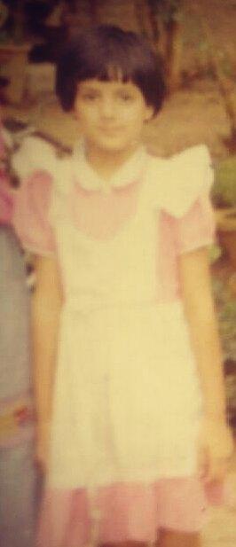 Sumati Singh childhood image