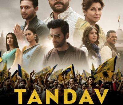 Tandav web series Cast