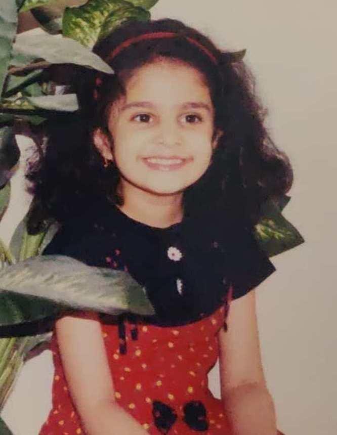 Manasa Varanasi childhood image