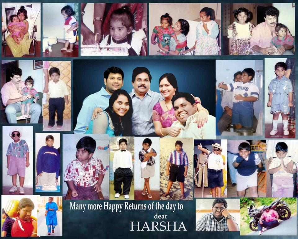 Harsha Chemudu childhood image