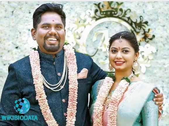Harsha Chemudu with his wife