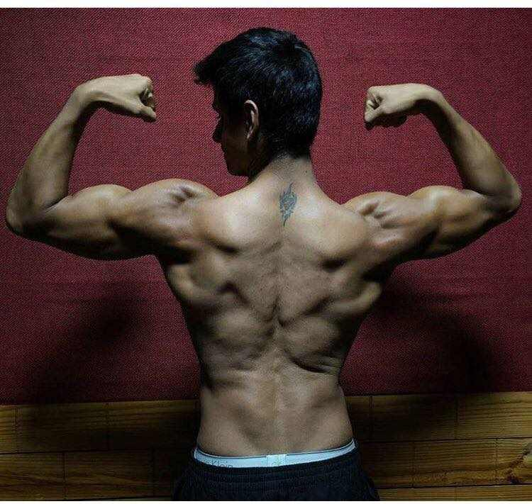 Nupur Shikhare back tattoo