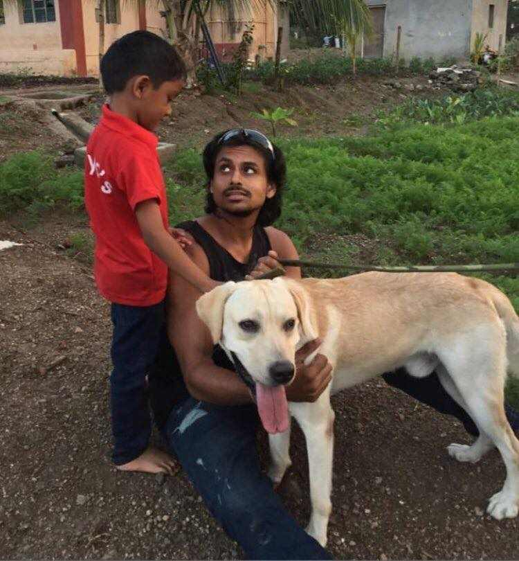 Nupur Shikhare is a dog lover