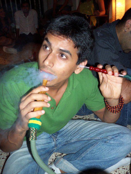 Nupur Shikhare smoking