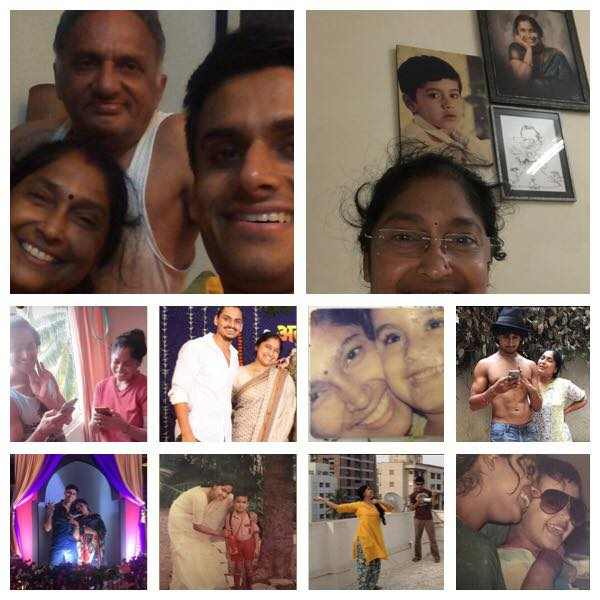 Nupur Shikhare with his family