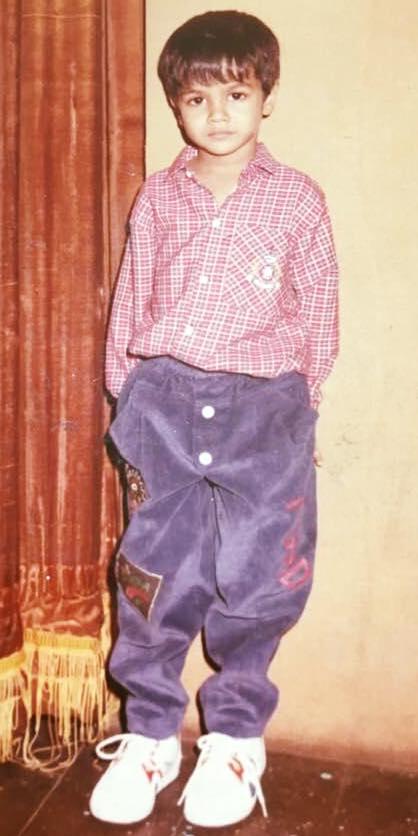 Rohit Gupta childhood image