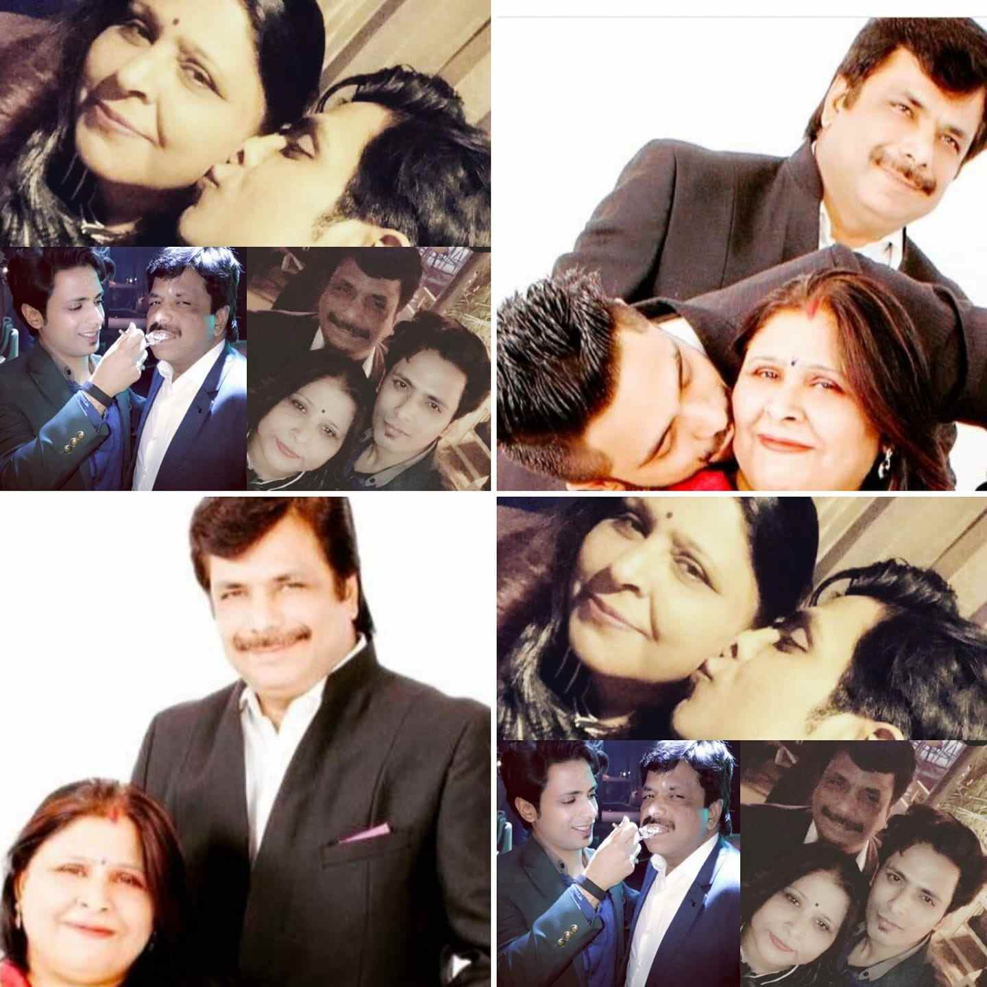 Tanmay Ssingh with his family