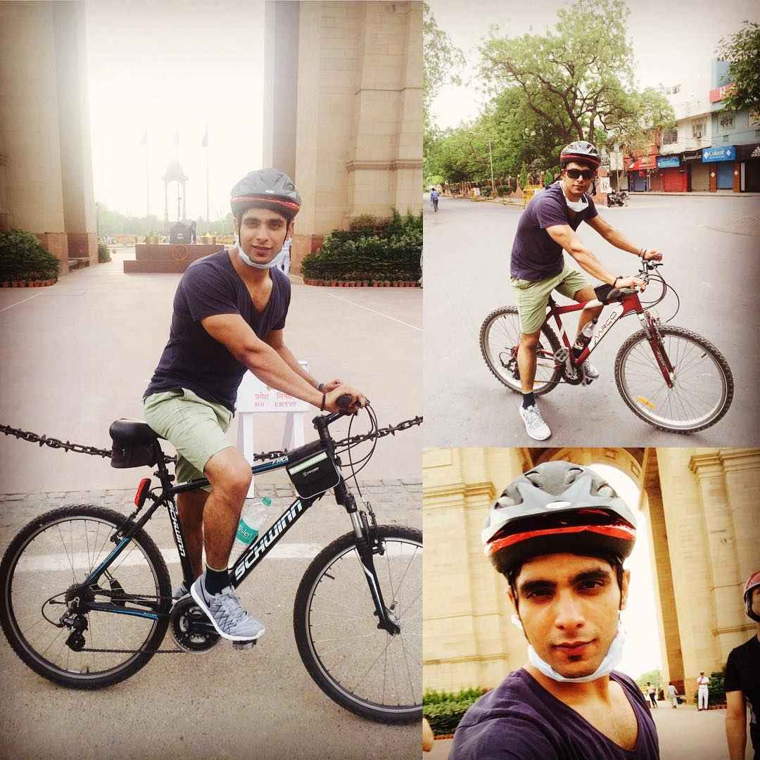Tanmay Ssingh's cycling