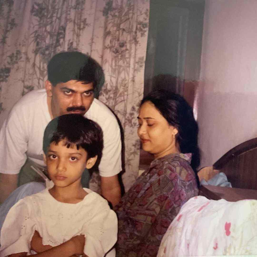 Medha Shankar childhood image