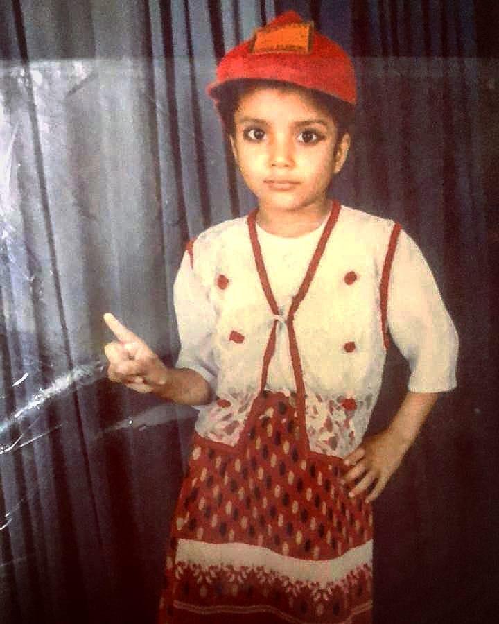 Palak Singh childhood