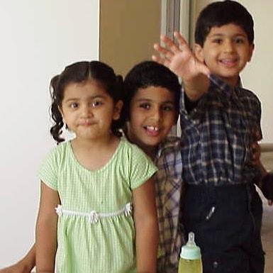 Puneet Kaur childhood image