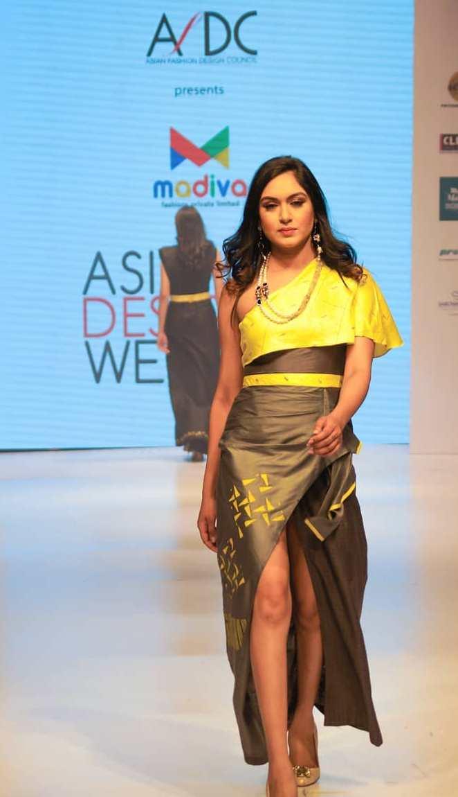 Munmun Dhamecha at Asian Designer Week